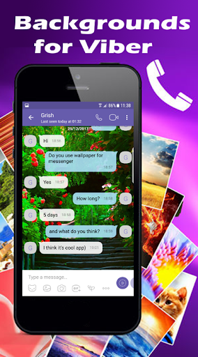 Wallpapers for Viber Messenger and Chat Apk 1