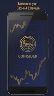 CoiNsider - Make money on Bitcoin & Ethereum price - náhled