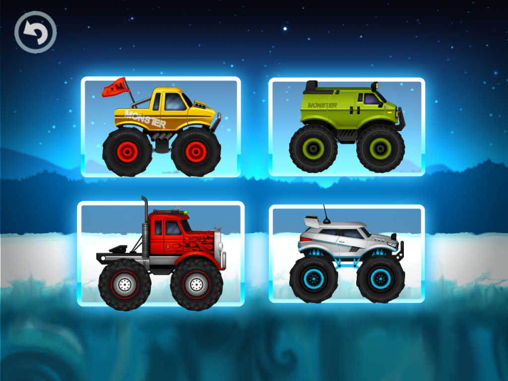 monster truck winter racing android apps on google play