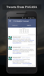 PH Weather Forecast - náhled