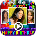 Birthday Video Maker with Song and Name 2020 icon