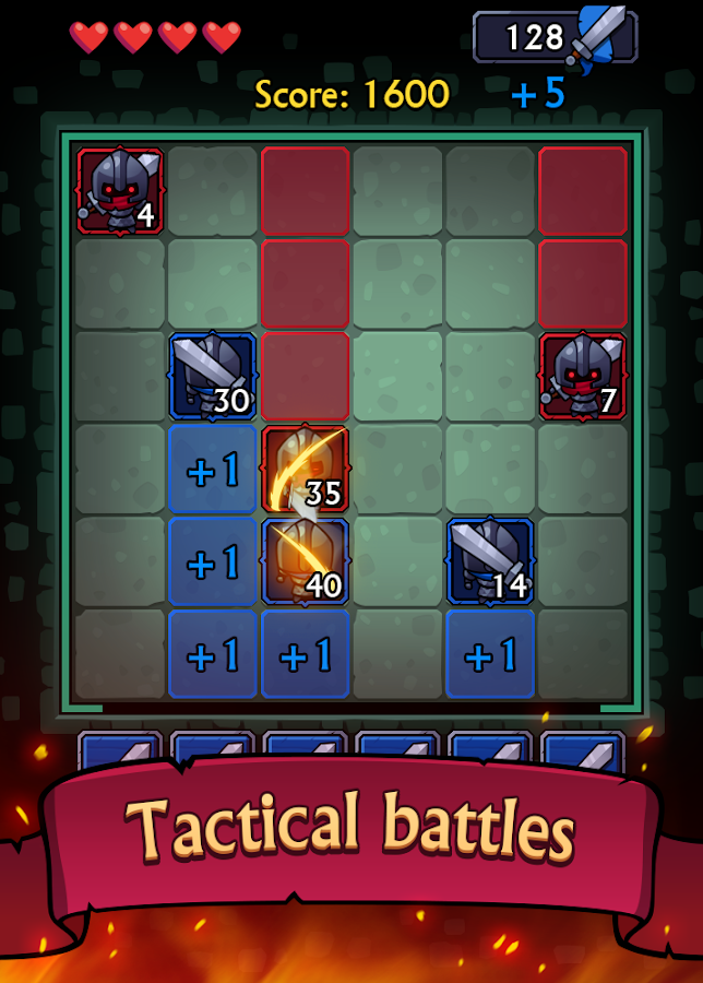 Mini Tactics: Puzzle on the line- screenshot