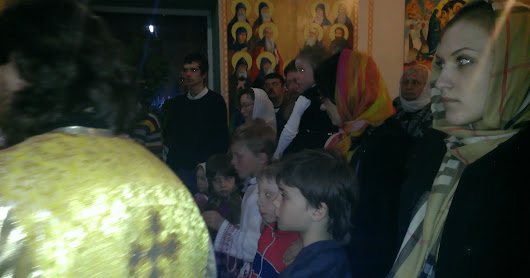 Пасха Христова в Богоявленском монастыре