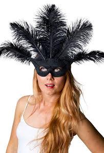 Ögonmask, lido svart