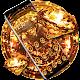 Yellow Diamond Glitter Theme (app)