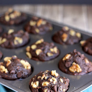Double Chocolate Banana Walnut Muffins Recipe