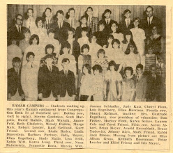 Photo: Ramah in Maine Contingent in the Beth El Fairfield Newspaper
