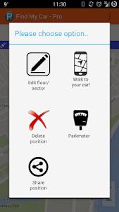 Find My Car Pro screenshot 1
