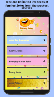 Funny Jokes Feeds (Free App)- screenshot thumbnail