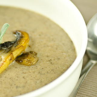 Ketogenic Cream of Mushroom Soup Recipe