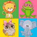 Funny Animals Memory Game icon