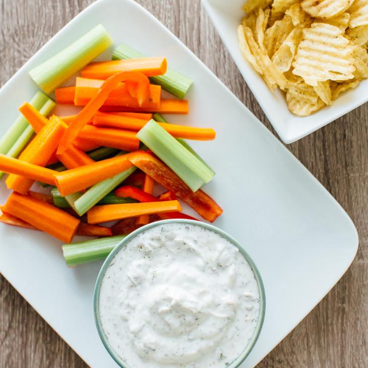 Healthy Greek Yogurt Ranch Dip Recipe
