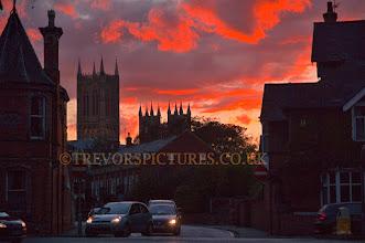 Photo: SEPTEMBER SUNSET IN LINCOLN