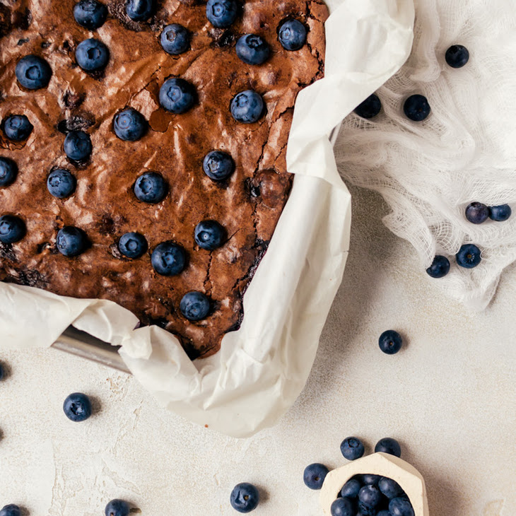 Blueberry Brownies Recipe