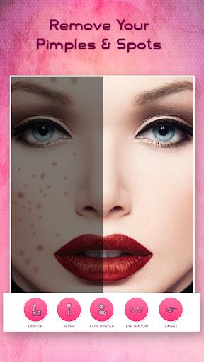 Face Makeup Photo Editor  screenshots 3