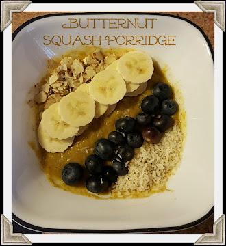 Butternut Squash Porridge Recipe