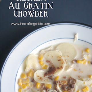 Chicken Au Gratin Chowder