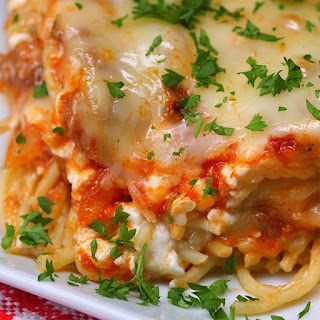Easy Baked Spaghetti With Cottage Cheese Recipes