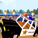 Blocky Police Car Mods icon