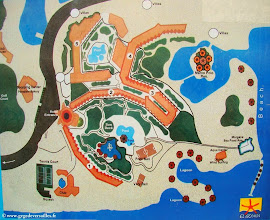 Photo: #003-Le plan du village du Club Med à El Gouna