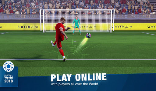 FreeKick Soccer World 2018 1.6.6 gameplay | by HackJr.Pw 16