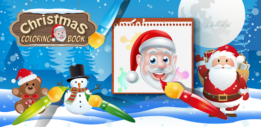 christmas coloring book santa game for kids apps on google play