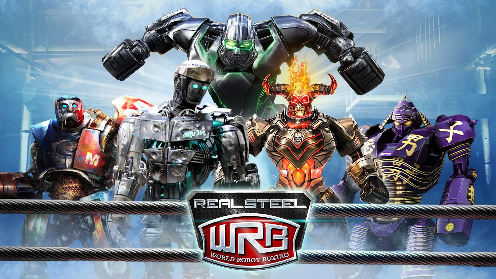 Screenshots of Real Steel World Robot Boxing for iPhone