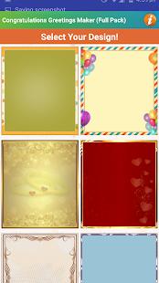 Design Congratulations Cards - náhled