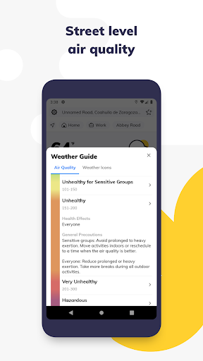 Weather Assistant by ClimaCell screenshot 7