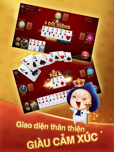 Tiu1ebfn lu00ean Miu1ec1n Nam- Tiu1ebfn Lu00ean - tien len - ZingPlay 4.8 screenshots 11