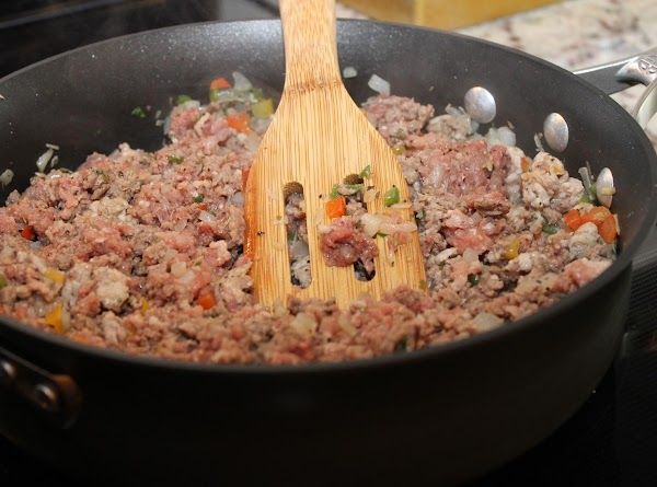 Add 1 cup of marinara sauce and tomato paste and combine well, then reduce...