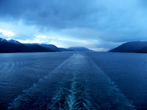 Photo: Heading towards the Amalia Glacier, Chile