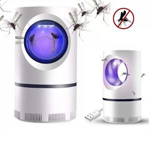 Set 2 x aparat antiinsecte cu lampa UV si aspiratie, Mosquito Killer