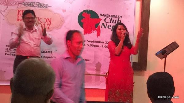 डिभोर्सपछि बढ्यो मिलन अमात्यको सक्रियता, ईद रियुनियनमा गुञ्जाइन् बंगाली गीत