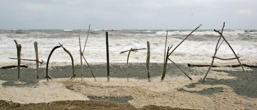 Photo: am Strand von Hokitika