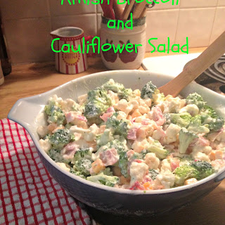 Amish Broccoli and Cauliflower Salad