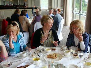 Photo: Elizabeth Hayes, Barbara Broderick and Áine O'Neill looks like they already had the soup.