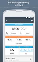 Screenshot of Time Meter Time Sheet