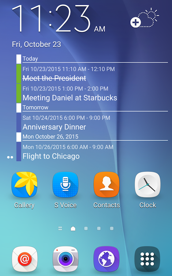 Clean Calendar Widget Pro- screenshot
