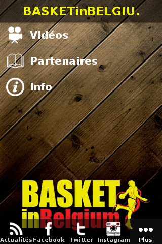 Basket in Belgium- screenshot