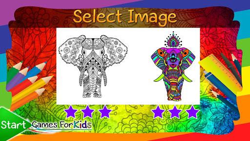 Mandalas of Animals for Coloring 4.0.0 screenshots 3