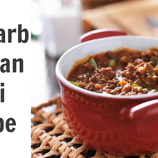 Lower Carb Chili