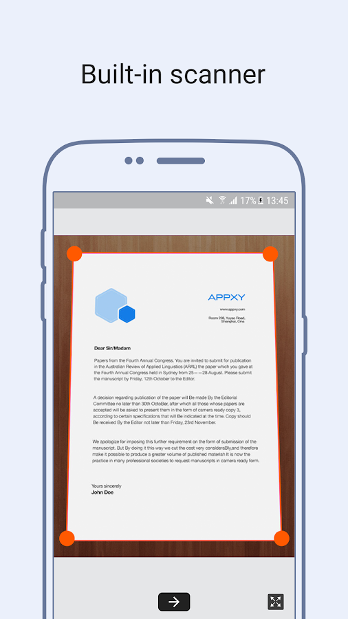 Tiny Fax +: Fax vom Telefon android apps download
