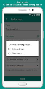 Task Clock - Alerts, Tasks with Subtasks - náhled