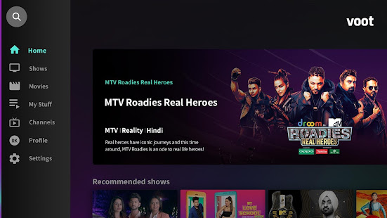 Voot-Colors, MTV, International Shows & Originals – Applications ...