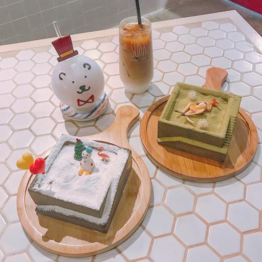 衝著甜點來的🍰 可愛是可愛但是好甜唷~吃過一次就好‼️ 🔍雪地/草地$200