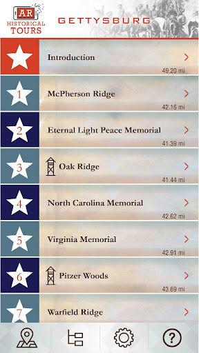 Screenshot for Gettysburg AR Tour in United States Play Store
