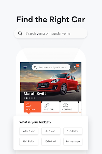 CarDekho - New & Used Cars Price & Offers in India 7.1.0.3 screenshots 1