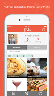 Tender - Social Food- screenshot thumbnail