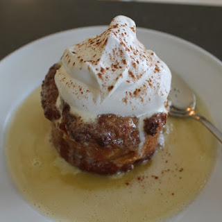 White Chocolate Apricot Bread Pudding